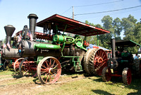Traction engines at the Williams Grove, PA steam show